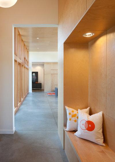 Moderne Entré by Coates Design Architects Seattle