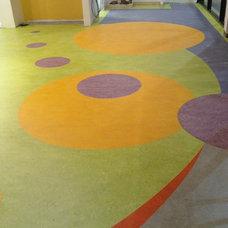 Contemporary Entry by Carpet One Modesto