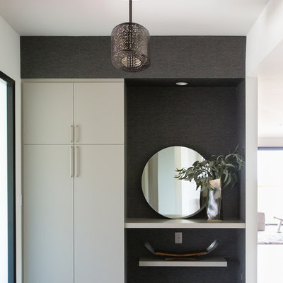 Inspiration for a contemporary entryway remodel in San Francisco
