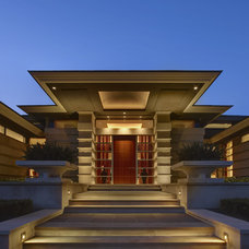 Contemporary Entry by DesRosiers Architects