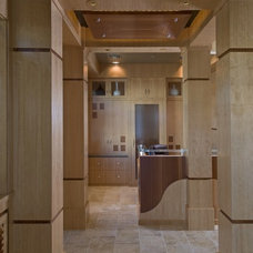 Asian Entry by Busby Cabinets