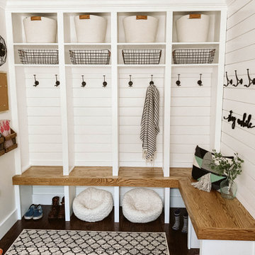 Otter + Howell Mudroom/ Laundry Room