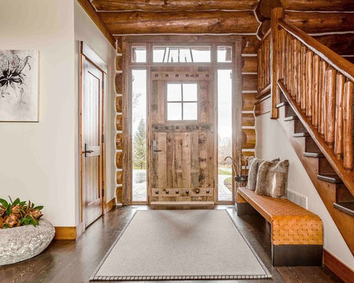 Foyer Decor Houzz : Best rustic entryway design ideas remodel pictures houzz
