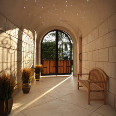 mediterranean entry by Brown's Interior Design