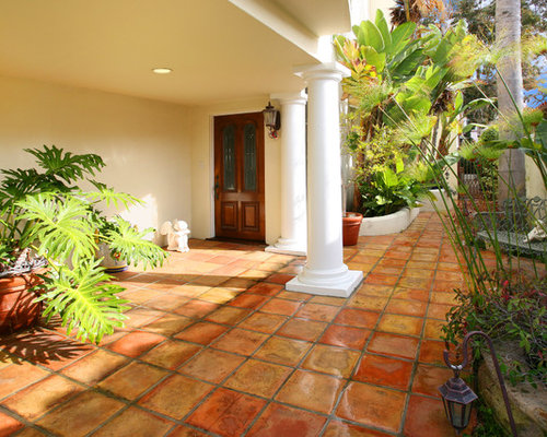 Terra Cotta Tile Outdoor Flooring Houzz