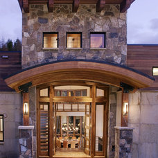 Contemporary Entry by Kelly & Stone Architects