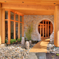 Contemporary Entry by Spani Developments Ltd.