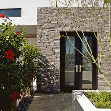 Contemporary Entry by Stephens Design Group