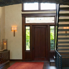 contemporary entry by Martha O'Hara Interiors