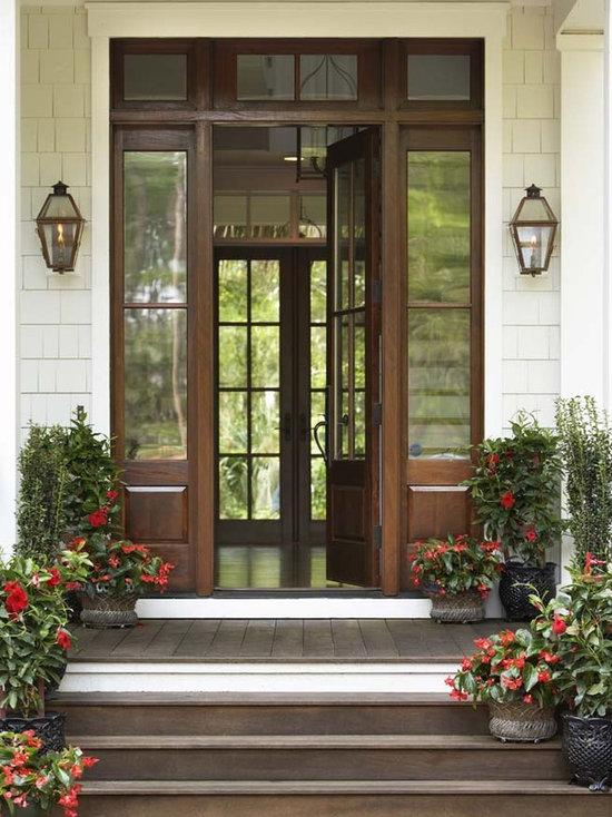 Front Door Side Window Houzz - Front door window