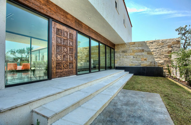 Contemporary Entry by Progressive Solutions / Renaissance Bronze Windows