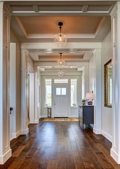 Traditional Entry by Brighton Homes Utah