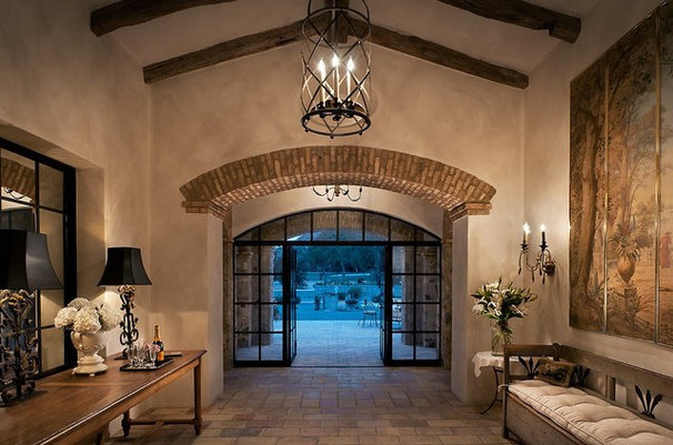 Southwestern Entry by Calvis Wyant Luxury Homes
