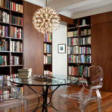 Eclectic Living Room by Billinkoff Architecture PLLC