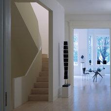 Modern Entry by David Hotson Architect