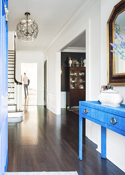 Transitional Entry by Roost Interiors