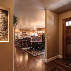 Traditional Entry by CapStone Home Renovations