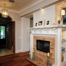 Craftsman Entry by Sunset Properties of Tampa Bay