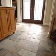 Traditional Entry by Ceramic Decor Centre Ltd.