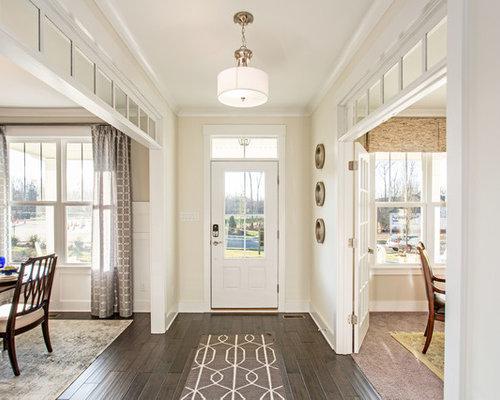 Formal dining room entryway design ideas renovations photos for Dining room entrance ideas