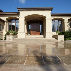 Mediterranean Entry by NORMAN CHARLES CONSTRUCTION