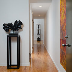 contemporary entry by Pangaea Interior Design, Portland, OR
