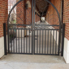 Traditional Windows And Doors by Custom Security Fence & Iron Works, LLC