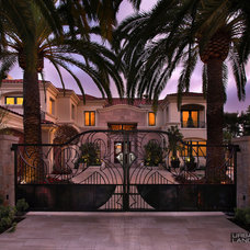 Traditional Entry by Urban Landscape