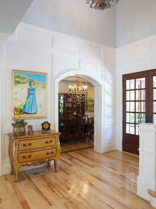 Entryway Wainscoting Houzz