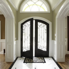 Traditional Entry by Allwood Construction Inc