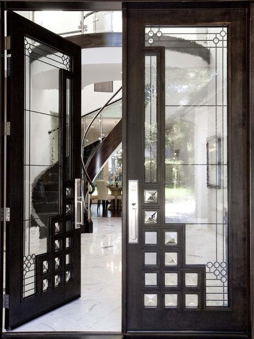 Fotos de entradas | Diseños de puertas principales modernas con ...