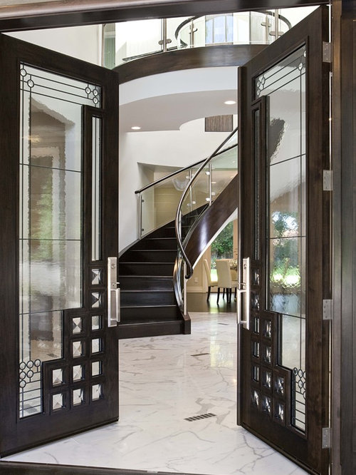 Grand entrance doors home design ideas renovations photos for Grand entrance doors