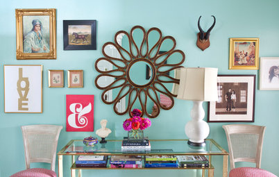 Houzz Tour: Energy and Color Aplenty in a Live-Work Rental