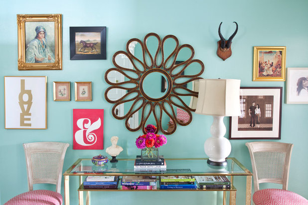 Eclectic Entry by Caitlin Wilson Design