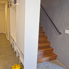 Contemporary Entry by Logan's Hammer Building & Renovation