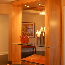 Contemporary Entry by B. W. Interiors Chicago