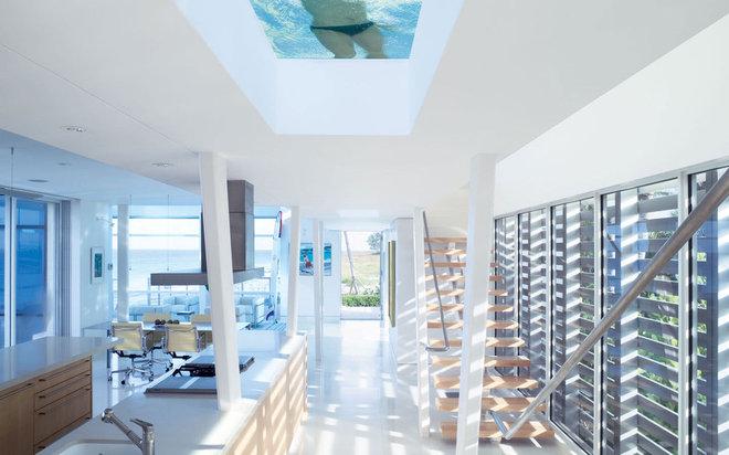 Modern Entry by hughesumbanhowar architects