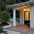 Combination Mudroom And Laundry Room Farmhouse Entry