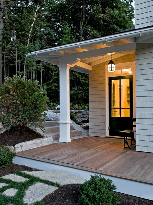 Beach style french doors back yard home design photos for Back door styles