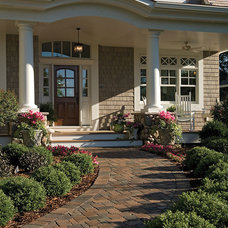 Traditional Entry by House Plans and More