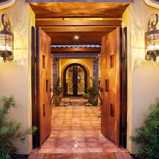 Mediterranean Entry by Sterling Custom Homes