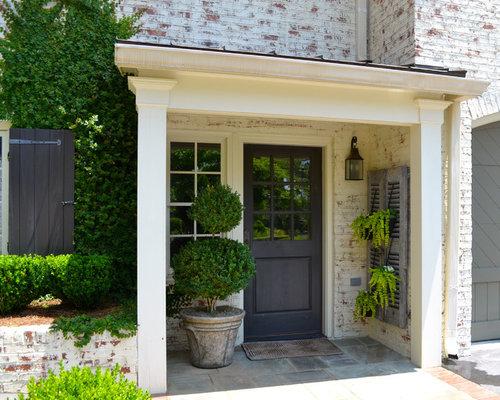 Painted Brick Exterior Home Design Ideas Pictures