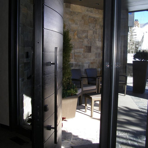 Curved Front Door Ideas Pictures Remodel And Decor