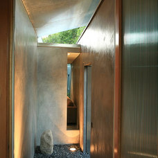 Contemporary Entry by John Powell Architects
