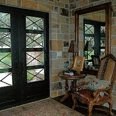 Traditional Entry by Campbell Brown Construction