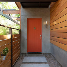 Contemporary Entry by Rick & Cindy Black Architects