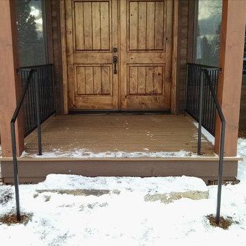 Porch & Entry Railings