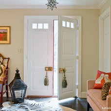 Eclectic Entry by Katie Rosenfeld Design