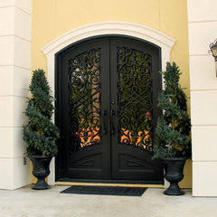mediterranean entry by Manhattan Iron Doors