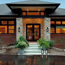 Contemporary Entry by VanBrouck & Associates, Inc.